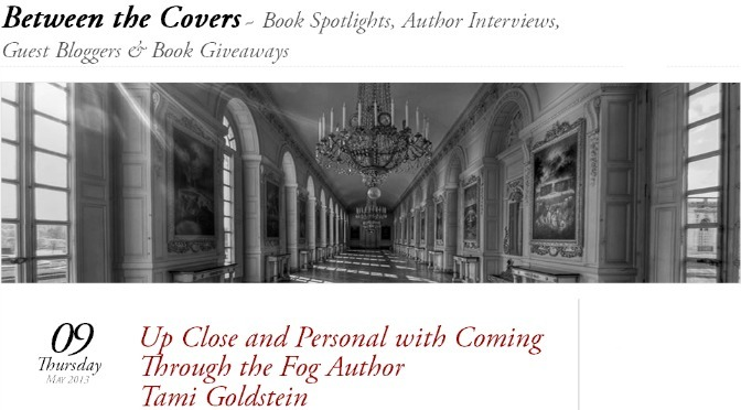 Q&A with Tami on the Between The Covers blog